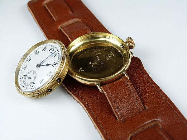 Borgel Cased Wrist Watch