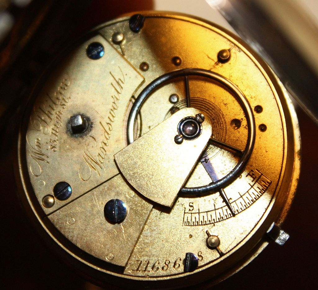 Examples of British hallmarks in watch cases