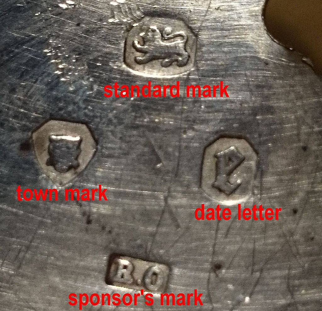look for manufacturers marks finding the mark eases the
