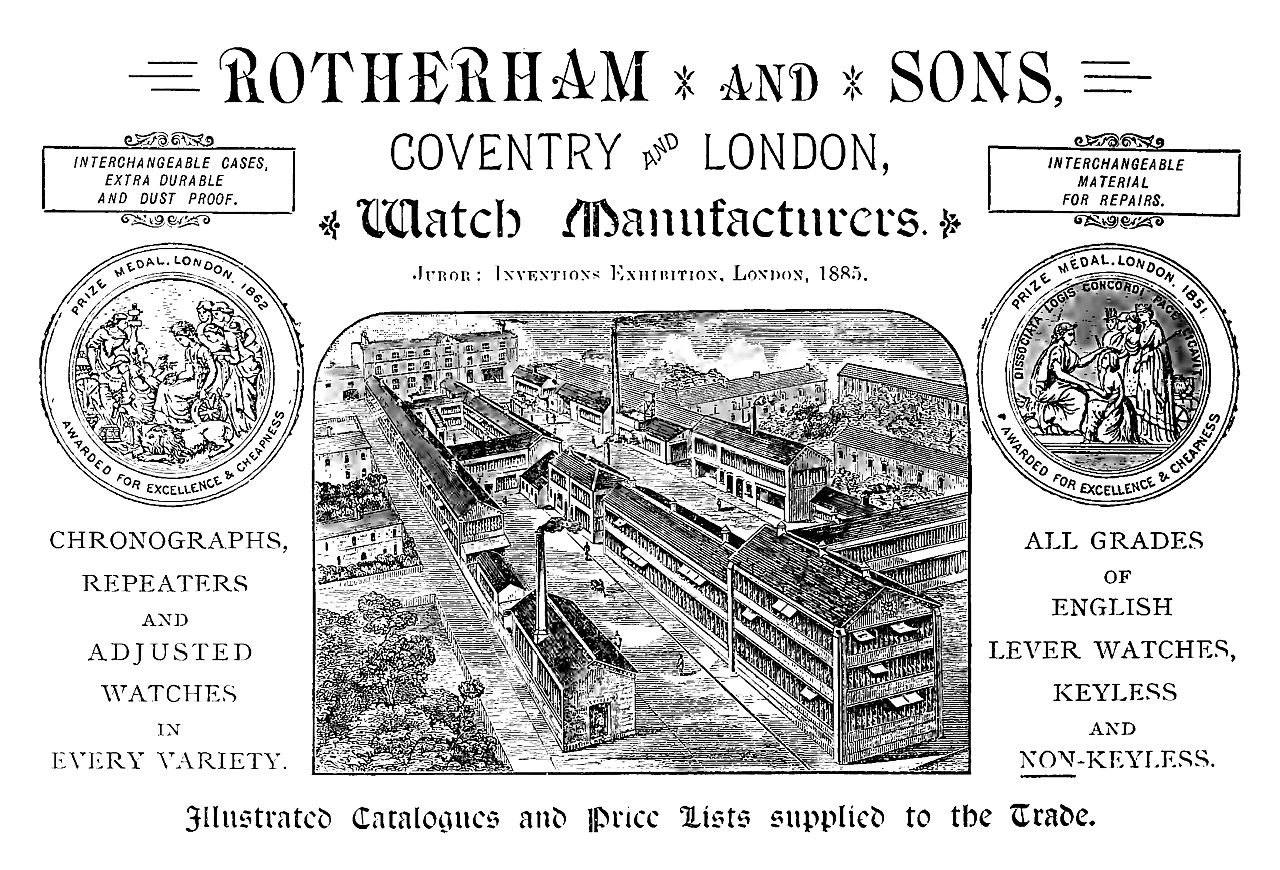 Rotherham's Factory in 1888