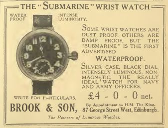 Submarine watch advert