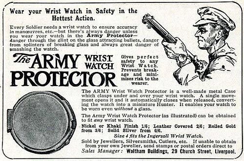 The Army wristwatch protector
