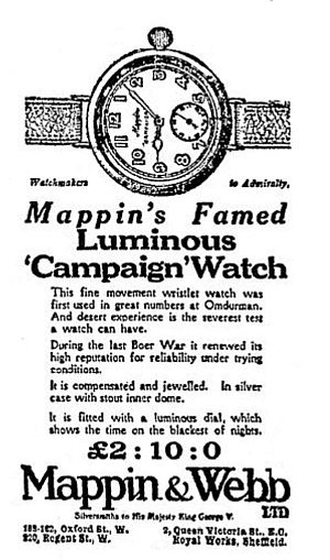 1915 Mappin & Webb Advert