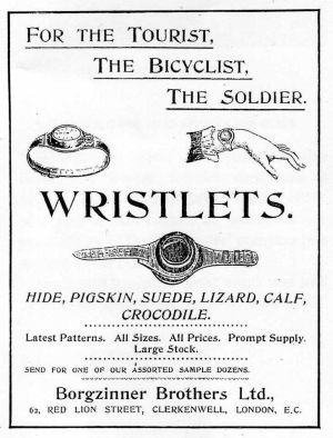 Advert in Watchmaker, Jeweller and Silversmith 1901