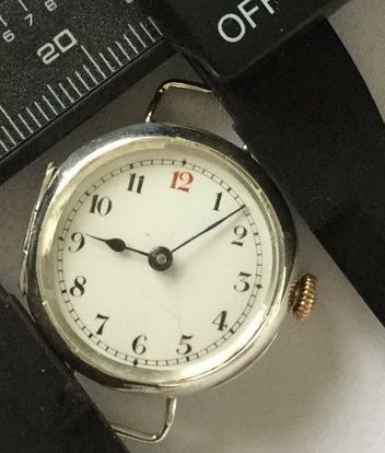 plain small wristwatch