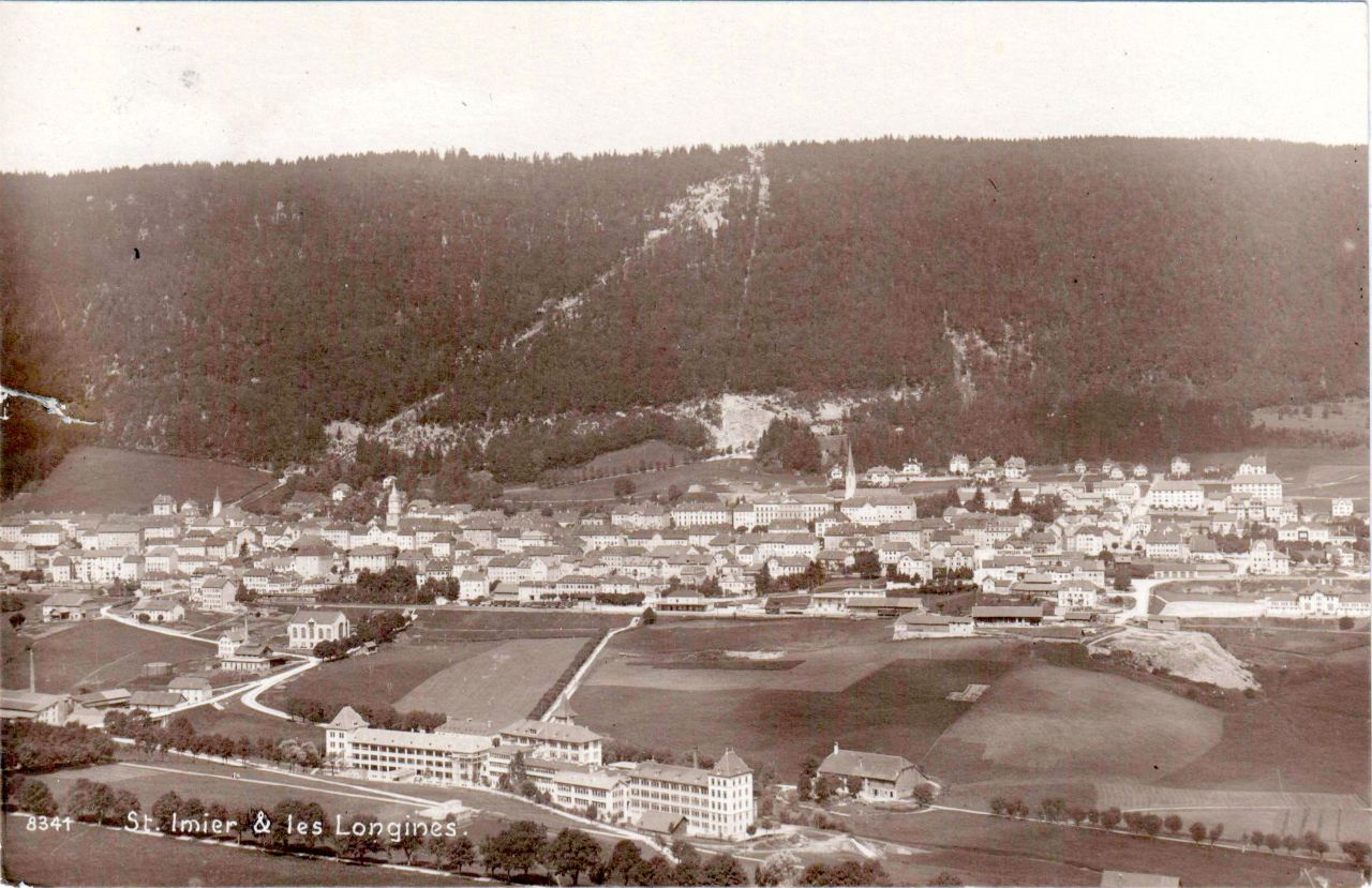St Imier and Longines Factory 1920s