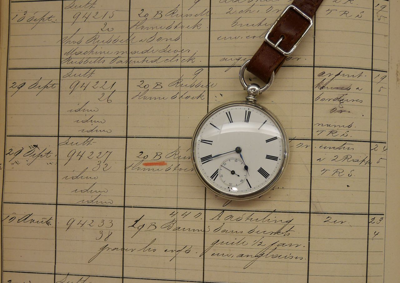 1877 Watch on Ledger