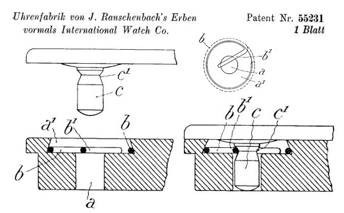 Patent CH 55231