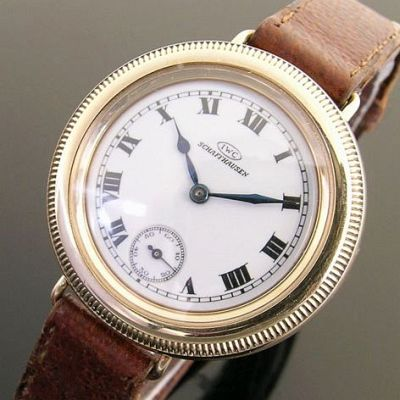 IWC hermetic face