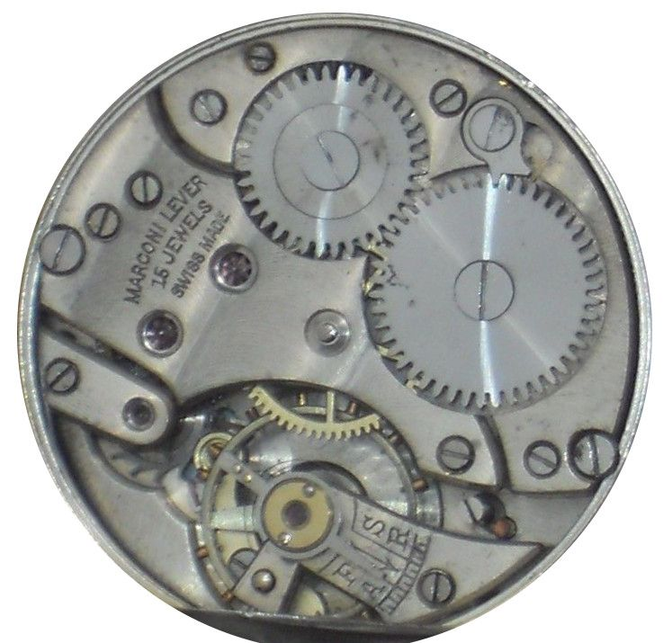 Marconi Lever General Watch Co. movement
