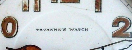 Tavannes with apostrophe