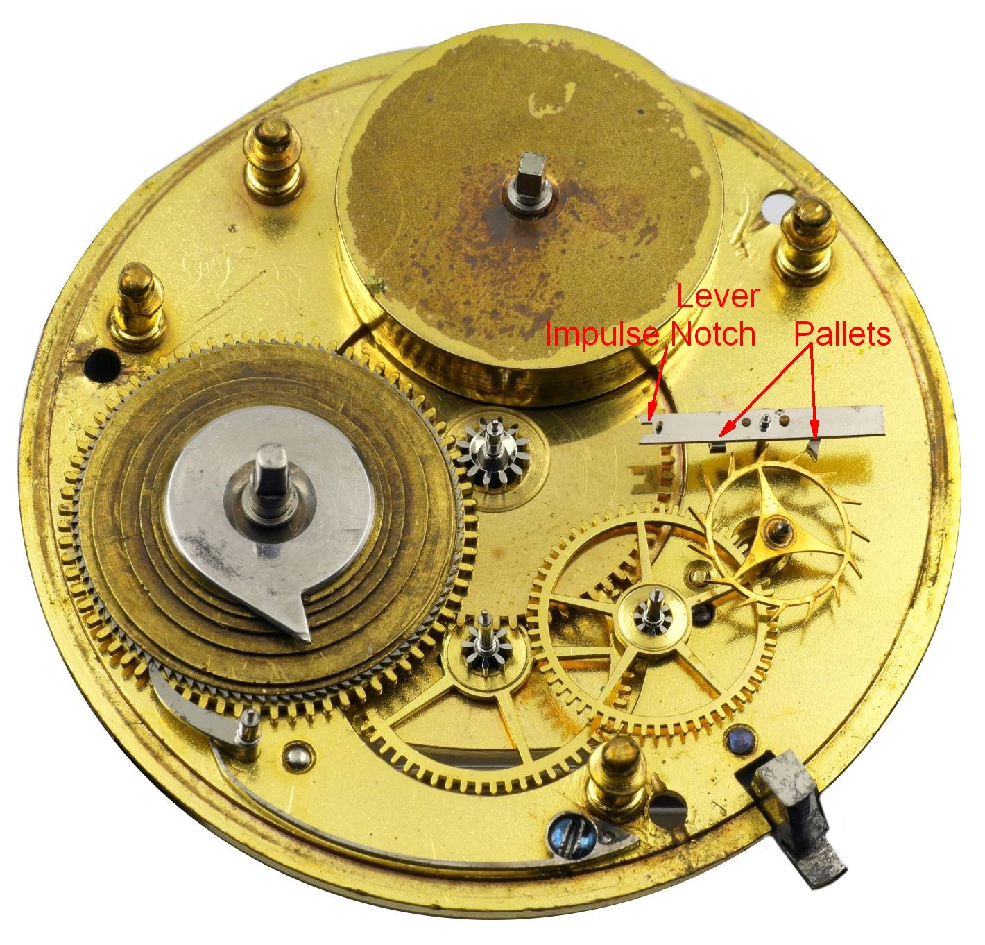 English lever movement