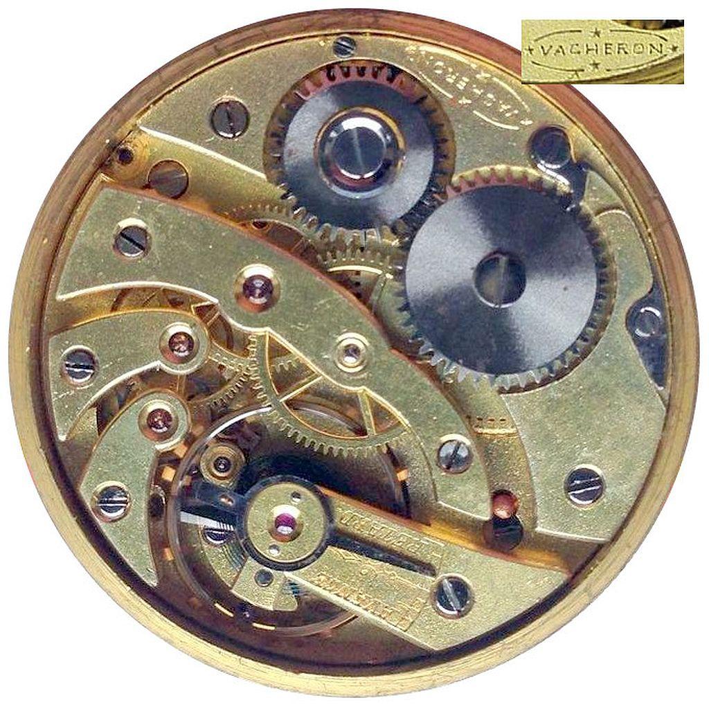 Watch movement identification pocket Swiss &