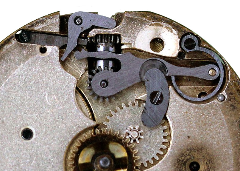Early Omega Wristwatch Movement