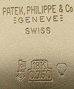 Patek Philippe case back
