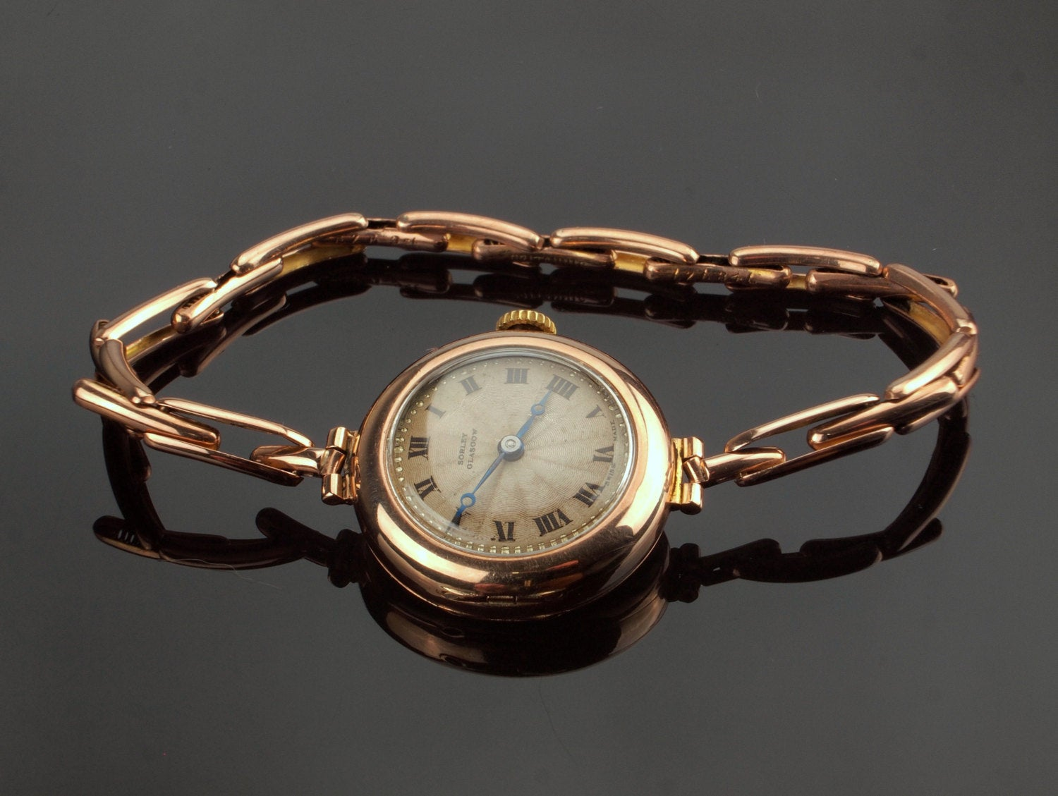 Watch with Britannic Bracelet
