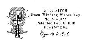 Fitch 1881 US patent No. 237377